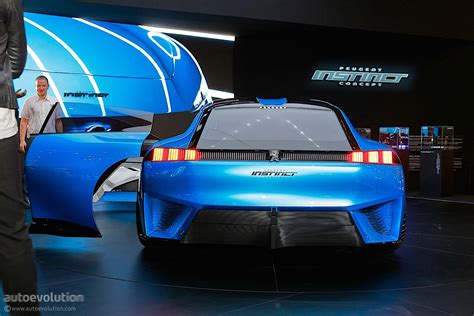 Peugeot Instinct Concept Shines In Geneva With French