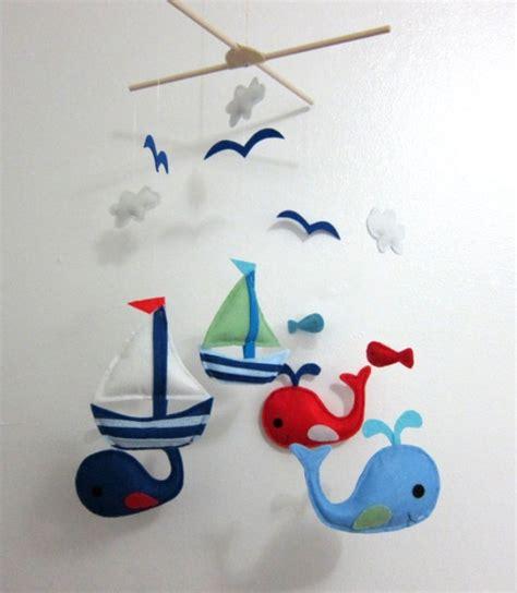 nautical crib mobile nautical mobile baby boy nautical nursery