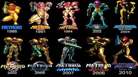 Top 8 Facts About The Metroid Series Youtube