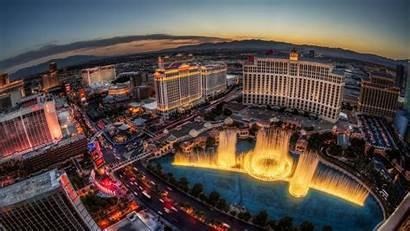 Vegas Las Landscape Building Fountain Cityscape Wallpapers