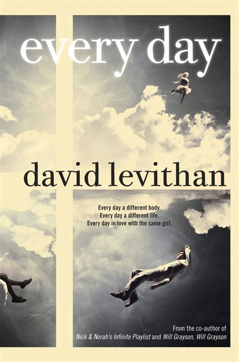 Book Review Every Day By David Levithan  Read Breathe Relax