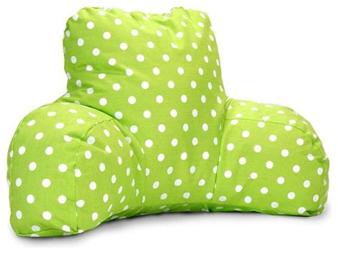 Small Bed Pillows by Lime Small Polka Dot Reading Pillow Contemporary Bed