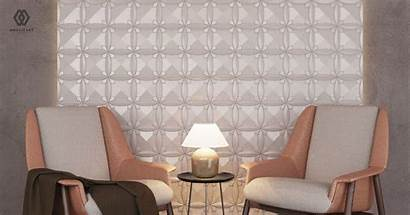 Dinding Rumah Panel Mosaicart Bagus Mana Lebih