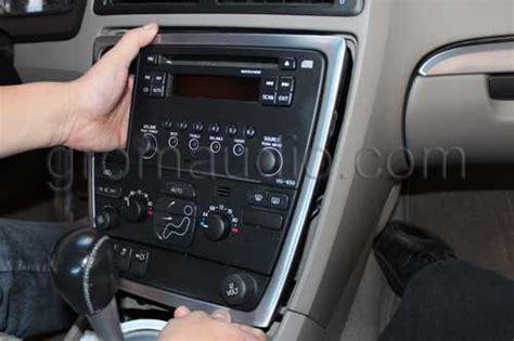 Volvo Hu 650 Wiring Diagram by Volvo 01 06 Hu650 850 Car Stereo Removal Guide And