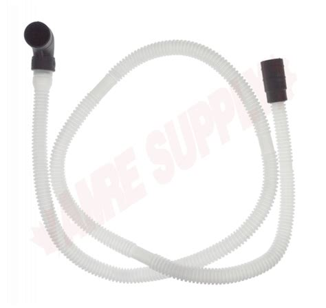 Wpw Whirlpool Dishwasher Drain Hose With Loop