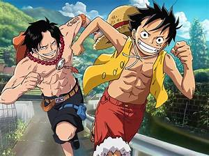 Luffy and Ace by Narusailor on DeviantArt