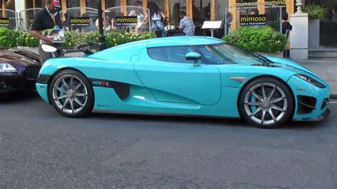 koenigsegg ccxr special edition turquoise walkaround