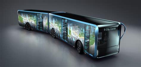 concept bus willie transparent lcd bus concept transport