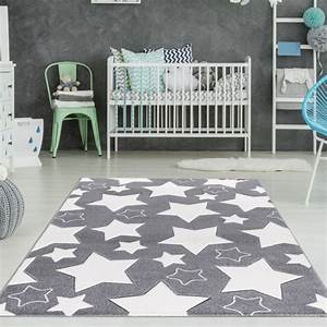Teppich Kinderzimmer Sterne : kinderzimmer teppich sterne grau wei teppich4kids ~ Eleganceandgraceweddings.com Haus und Dekorationen