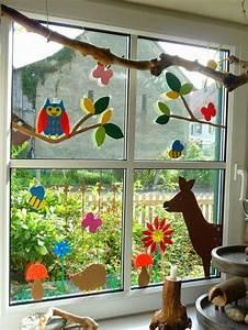 Fensterdeko Weihnachten Kinder : fensterbilder basteln mit kindern dekoration decoration ideas deko ideen pinterest ~ Yasmunasinghe.com Haus und Dekorationen