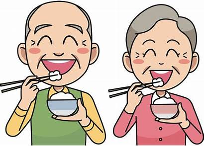 Eating Rice Couple Clip Onlinelabels