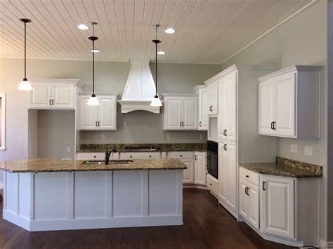 knotty alder kitchen cabinets   refinished