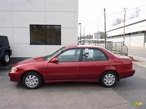 Toyota Corolla 2002 : 2002 impulse red toyota corolla ce 46967283 car color galleries ~ Medecine-chirurgie-esthetiques.com Avis de Voitures