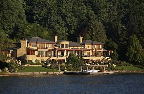 european style villa  lake washington idesignarch
