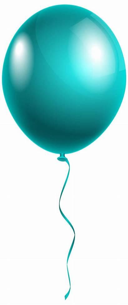 Balloon Birthday Clipart Clip Ballon Balloons Transparent