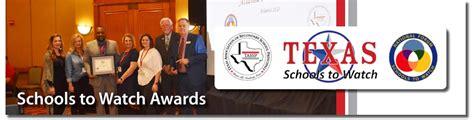 Schools to Watch - Texas