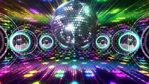 Disco And Club Space Background. Stock Footage Video ...