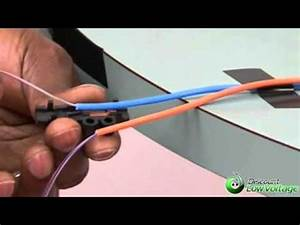 How To Install Indoor Fiber Optic Fan Out Kit - YouTube