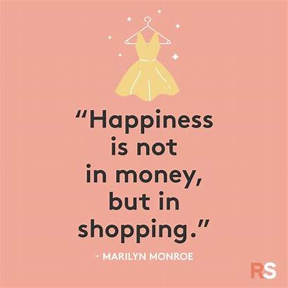 Quotes Shopping Friday Sayings Funny Simple Short