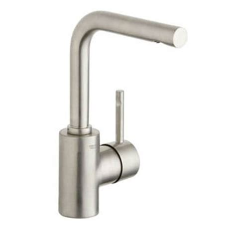 grohe essence bathroom faucet brushed nickel grohe 32 137 en0 essence single lever lavatory centerset