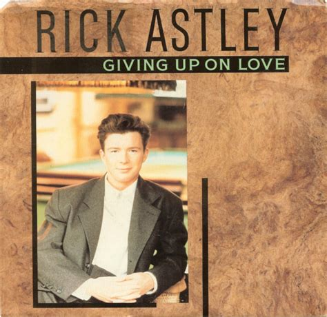 rick astley giving   love releases discogs