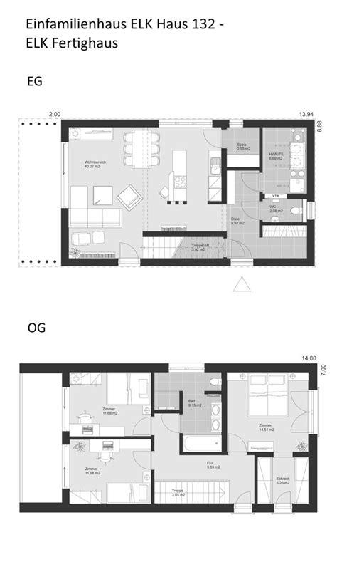 schmale häuser grundrisse modernes design haus grundriss schmal mit flachdach