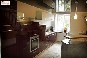 Cuisines Amenagees : am nagement cuisine valognes hmc ~ Melissatoandfro.com Idées de Décoration