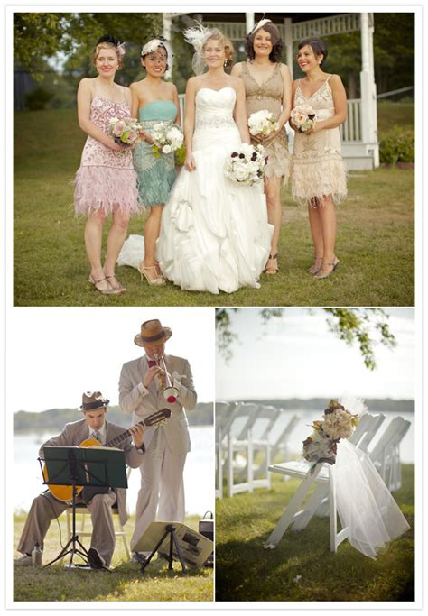 Just Laugh : Weddings Inspired by the Roaring 20's