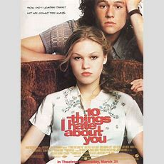 10 Things I Hate About You 1999 Movie Posters