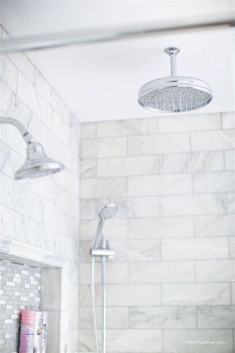 bathroom makeover   heart naptime grey  white