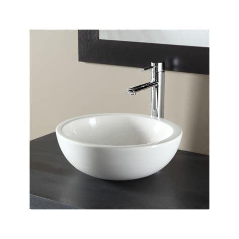 vasque design a poser vasque a poser bol vasques salle de bains porcelaine blanche
