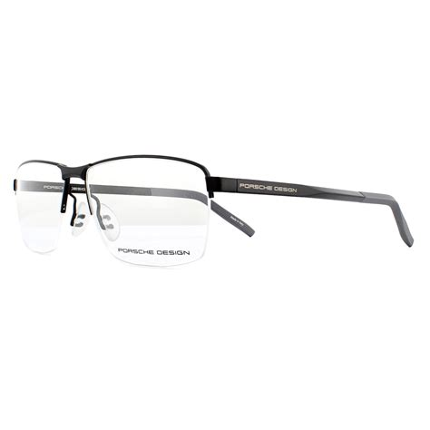 Soft, clear silicone nose pads for porsche sunglasses and eyeglasses. Porsche Design Eyeglasses P8318 A Black 55mm 4046901563035 | eBay