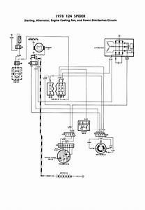 Fiat 124 Spider Wiring Diagram 1979 1982