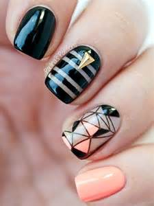Latest easy nail art designs for short nails