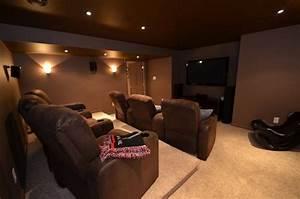 Cinema A La Maison : la cr ation d 39 une salle de cin ma maison soumission renovation ~ Louise-bijoux.com Idées de Décoration
