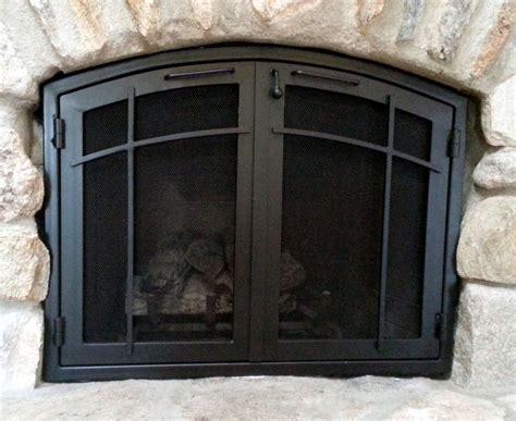 custom fireplace doors fireplace doors ironcraft in az