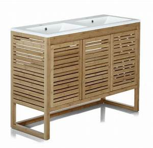 meuble sous vasque de salle de bain 120cm danong alinea With alinea meuble salle de bain sous vasque