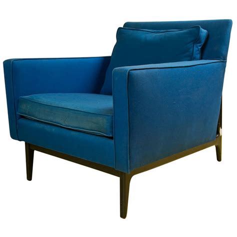 adrian pearsall style mid century club chair