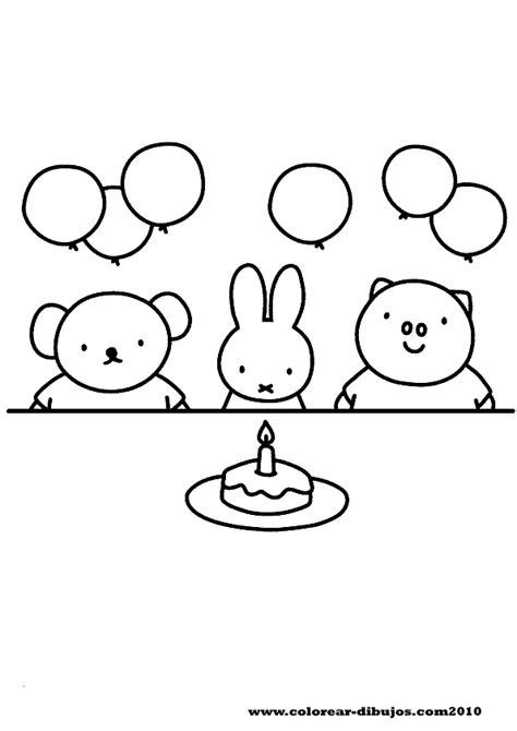 Kleurplaat Nijntje Verjaardag by Pin By April Braveheart On Print Kleurplaten Verjaardag