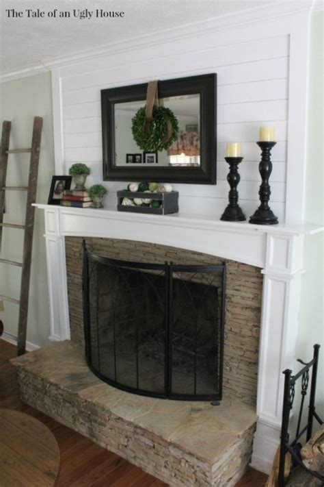 ship lap  fireplace sincerely marie designs