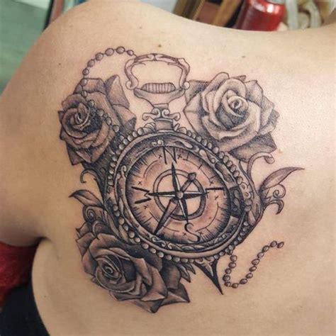 tatouages boussole  idees avec la signification