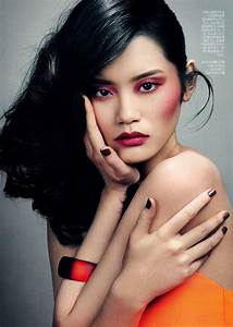 Asian Models Blog  Editorial  Ming Xi In Vogue China
