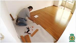 Productos Maderables de Cuale: Pasos para instalar pisos de madera dura sobre concreto