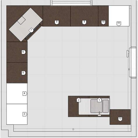 plan amenagement cuisine 10m2 cuisine 10m2 avec ilot central cuisine en image