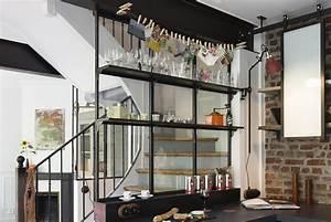 separation cuisine style atelier modern aatl With separation cuisine style atelier