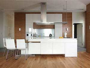 Choosing the best wood flooring for your home for Wood floors in modern kitchen