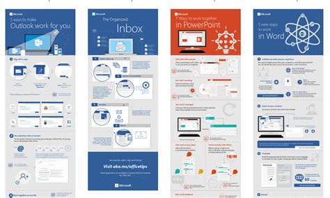 infographic templates  word outlook