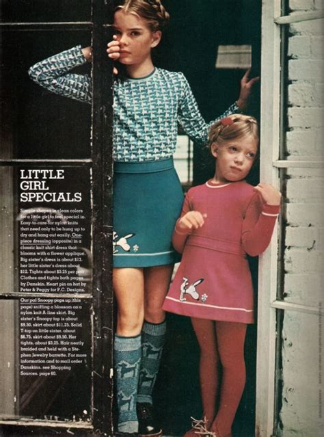 brooke shields left models snoopy skirt
