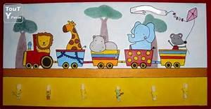 Tableau Chambre Enfant : tableau pour chambre d 39 enfant b b somme ~ Teatrodelosmanantiales.com Idées de Décoration