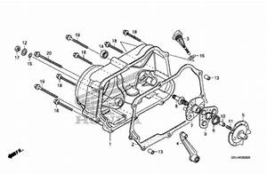 Oem Honda 50 Clutch Cover  1 - 11330-gan-770